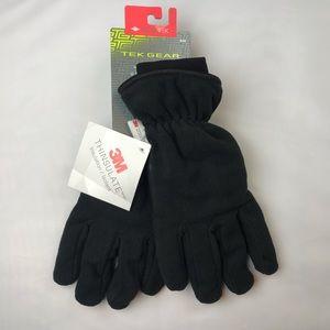 Winter snow gloves waterproof gloves Black New